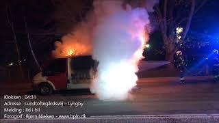 01.03.2019 – Ild i varevogn – Lyngby