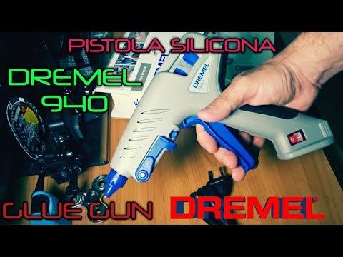 Unboxing Pistola Silicona DREMEL 940 Glue Gun