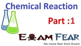 Chemistry Chemical Reaction Part 1 (Chemical Reaction) CBSE Class 10 X