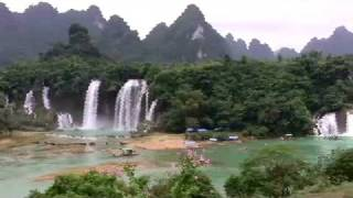 Video : China : The waterfalls of GuangXi 广西 province - video
