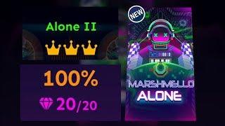 Rolling Sky - Marshmello Alone