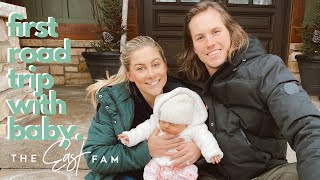 our familys first road trip | the east family