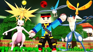 Minecraft - POKEMON BRICK BRONZE - ASH GRENINJA LEGENDARY?!
