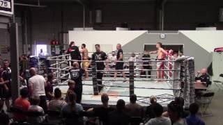 Sonny Gallmann vs  Artour Charoutiounian bij THE MIXX 5 juni 2016