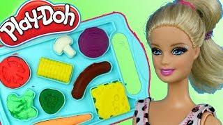Play Doh • Pizza marzeń • Barbie • bajki dla dzieci