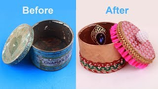 How To Make Handicrafts With Waste Materials Free Online Videos