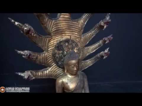 SOLD Golden Saturday Buddha Statue 65