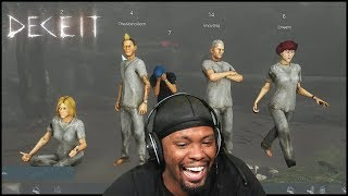 These Ninja Members Are Trying To Decieve Me! - Deceit Gameplay