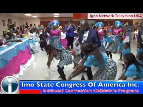 Imo state Congress of America Inc  Children's Dance September 4, 2013