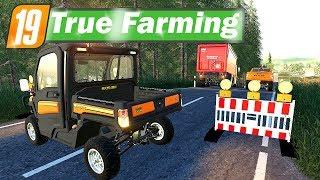 LS19 True Farming #06 - Straßenausbau mit Rainer C. Ment | Farming Simulator 19