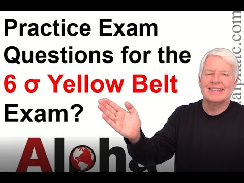 ASQ Six Sigma Yellow Belt Practice Exam - YouTube