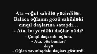 Ata və oğulun söhbəti - hekayəsi