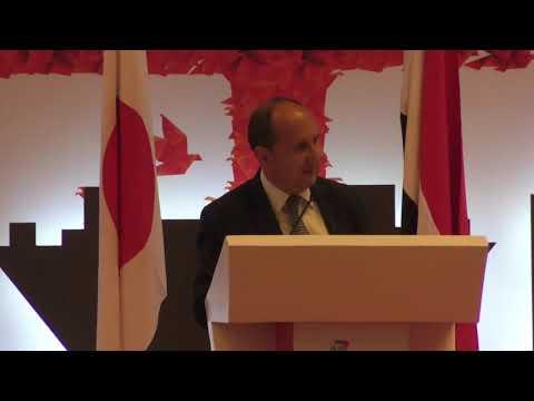 كلمة الوزير/ عمرو نصار خلال افتتاح المؤتمر الحادي عشر لمجلس الاعمال المصرى اليابانى
