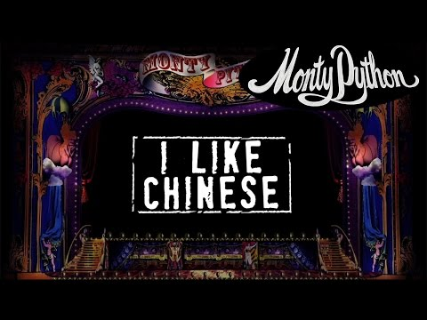Monty Python - I Like Chinese (w/ lyrics]
