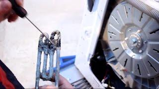 Замена ТЭНа в стиральной машине LG   Master-Plus.com.ua - YouTube