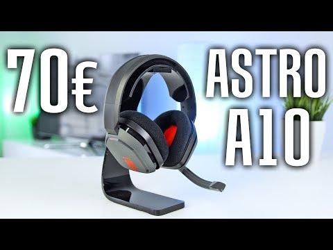 Astro A10 Gaming Headset - Review & Soundtest | Deutsch