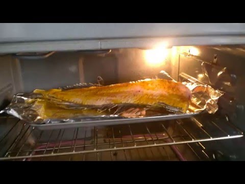 Filleted Fish Jumpimg in the Oven