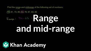 Range and Mid-range