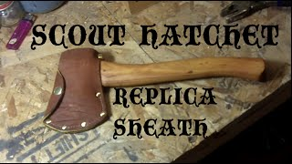 Vintage Boy Scout Hatchet Sheath