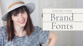 How To Choose Brand Fonts