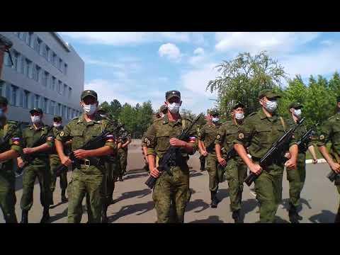 Принятие присяги курсантов Военного учебного центра СибАДИ