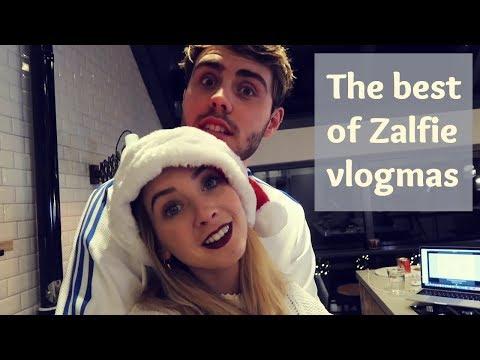 THE BEST OF ZALFIE VLOGMAS 2017