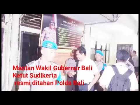 Kisah Mantan Wagub Sudikerta Berujung di Penjara