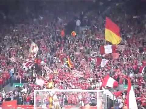 Liverpool vs Chelsea 2005 - Champions League Semi-Final - 130 decibels pre-match!