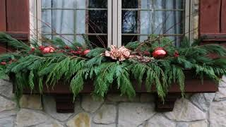 Christmas Decorating Ideas For Window Boxes