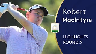 Robert MacIntyre Highlights | Round 3 | 2019 Italian Open