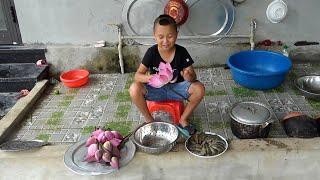 Tồm Hấp Hoa Sen - Siêu Đầu Bếp Mao Đệ Đệ Tự Tay Chế Biến Món Ăn Cực Hấp Dẫn