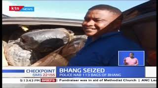 Police nab 113 bags of bhang and arrest 3 suspects in Kirimon Samburu