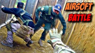 (EXTREMELY INTENSE) Airsoft Fight 💥