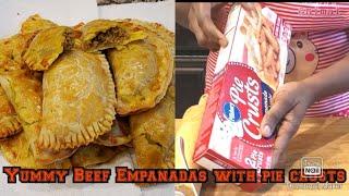 How To Make Tasty & Yummy Beef Empanadas, With Pie Crusts