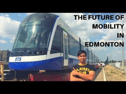 Edmonton's 1st LRV Train, For Valley Line LRT (sneak Peak) Mp3