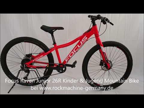 Focus Raven Junior 26R Kinder & Jugend Mountain Bike 2019