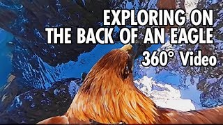 Exploring the Dolomites from an Eagle's Point of View in 360 (4K)