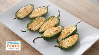 Roasted Jalapeno Poppers - Everyday Food With Sarah Carey