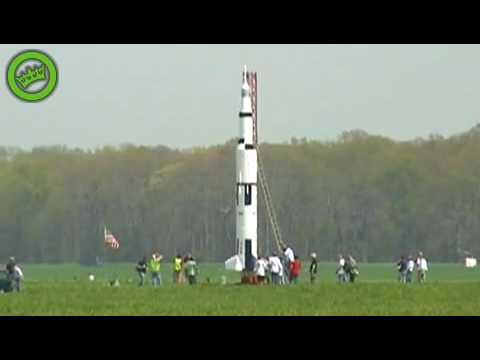 Awesome Amateur Rocket Launch