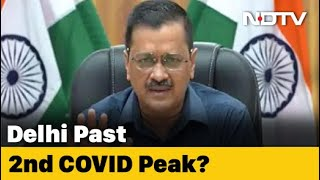 Delhi Has Already Peaked In Covid 2nd Wave, Experts Say: Arvind Kejriwal - Download this Video in MP3, M4A, WEBM, MP4, 3GP