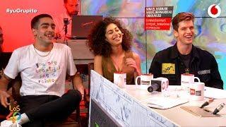 Los actores de Élite y sus piques #yuGrupito