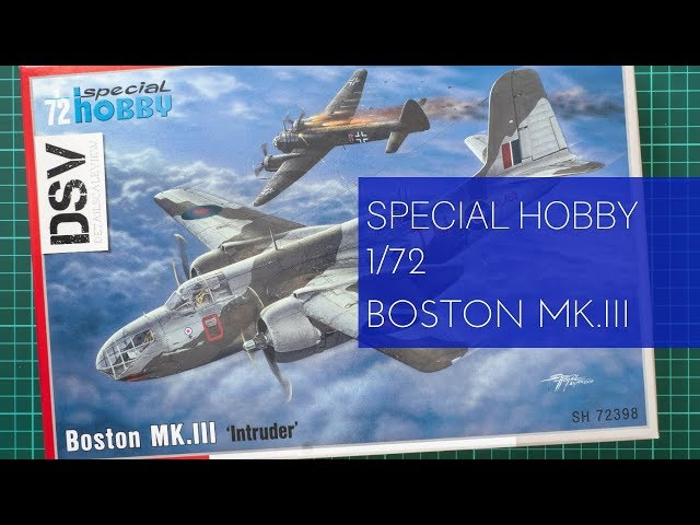 Special Hobby 100-SH72398 Boston MK.III Intruder in 1:72