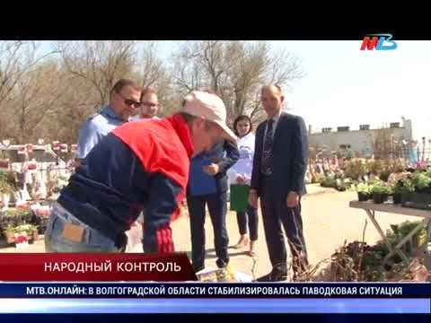 О рейде «Народного контроля» по местам продажи посадочного материала в Волгоградской области