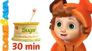 🍭  Johny Johny Yes Papa Song | Nursery Rhymes  - Fun for Children | Giant Candy  🍭