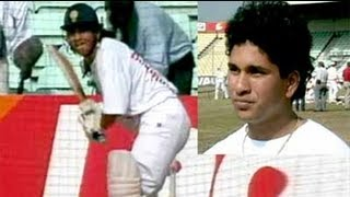 There's a new star on the horizon - Sachin Tendulkar, the youngest player in 25 years to score a Test century.