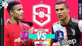 F8TAL KNOCKOUTS! KAZOOIE VS CANISPORTS! RONALDO VS GREENWOOD | FIFA 20 Ultimate Team
