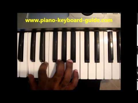Cmaj7 11 Piano Chord How To Play