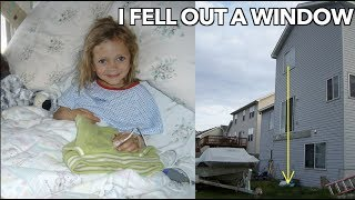 I Fell Out a 3rd Floor Window.... | Storytime