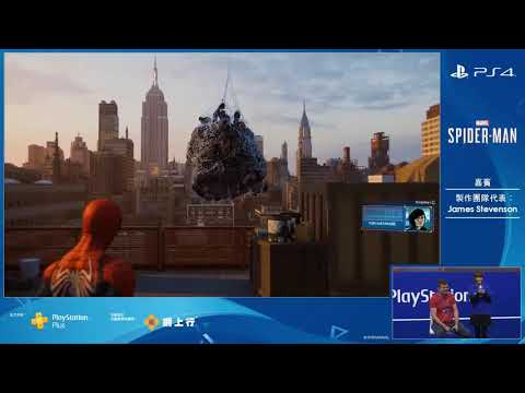 Open World Gameplay at ACGHK 2018 de Spider-Man