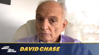 """David Chase Reacts to Seth's """"The Sopranos Diaries"""" SNL Sketch"""